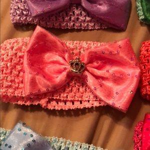 Accessories - Pack of 6 Babygirl Headbands